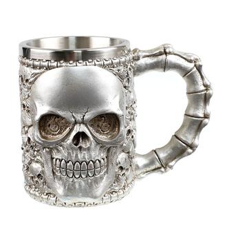 hrnček (korbel) Skull, NNM