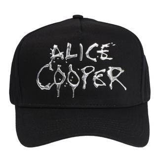 šiltovka Alice Cooper - Sonic Sliver Dripping Logo - ROCK OFF, ROCK OFF, Alice Cooper