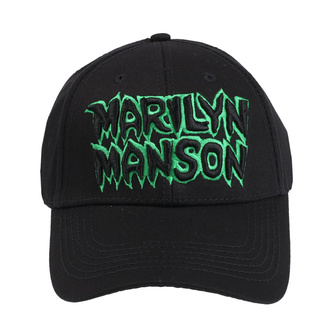 šiltovka Marilyn Manson - Logo - ROCK OFF, ROCK OFF, Marilyn Manson