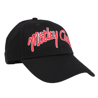 šiltovka Mötley Crüe - Logo - ROCK OFF, ROCK OFF, Mötley Crüe