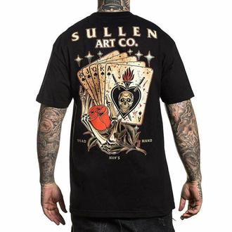 tričko pánske SULLEN - DEAD MANS - BLACK, SULLEN