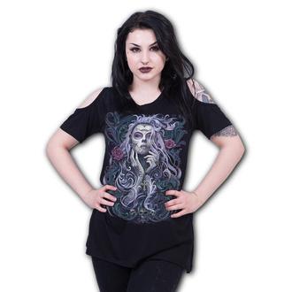 tričko dámske SPIRAL - ROCOCO SKULL, SPIRAL
