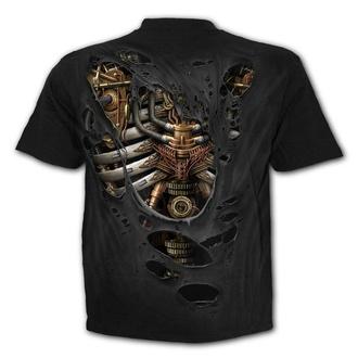 tričko pánske SPIRAL - STEAM PUNK RIPPED, SPIRAL