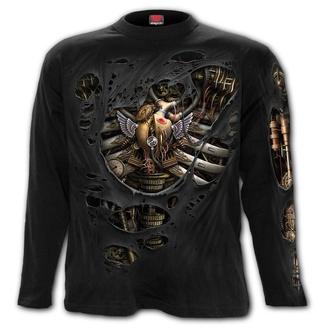 tričko pánske s dlhým rukávom SPIRAL - STEAM PUNK RIPPED, SPIRAL