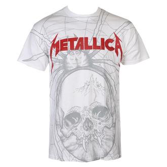 tričko pánske Metallica - Spider - White - RTMTLTSWSPI