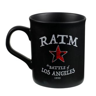 hrnček Rage Against the Machine - Battle Star - Black - RTRAMMUBSTA