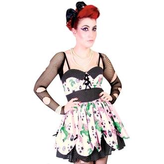 šaty dámske HELL BUNNY - Zombie Petal Dress - Pink, HELL BUNNY