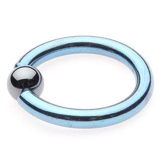 piercingový šperk - Metallic Blue - 6mm