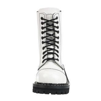 topánky STEADY´S - 10 dierkové - White black, STEADY´S
