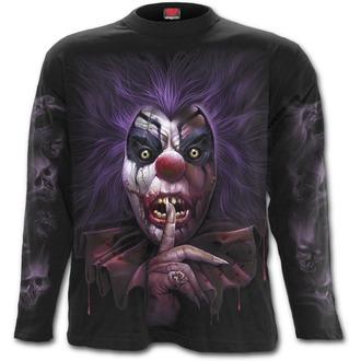 tričko pánske s dlhým rukávom SPIRAL - MADCAP - Black, SPIRAL