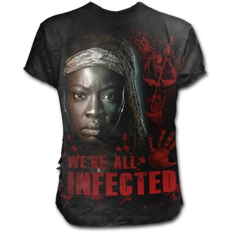 tričko pánske SPIRAL - MICHONNE - ALL INFECTED - Walking Dead - Black, SPIRAL
