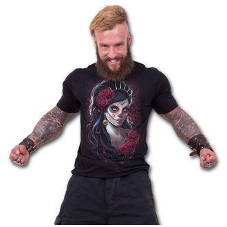 tričko pánske SPIRAL - DAY OF THE DEAD - Black, SPIRAL