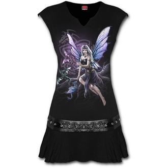 šaty dámske SPIRAL - DRAGON KEEPER - Black, SPIRAL