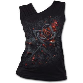 tielko dámske SPIRAL - BURNT ROSE - Black