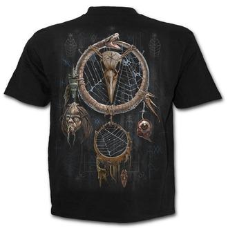 tričko pánske SPIRAL - VOODOO CATCHER - Black - K050M101