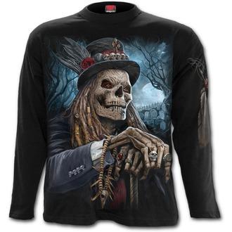 tričko pánske s dlhým rukávom SPIRAL - VOODOO CATCHER - Black, SPIRAL