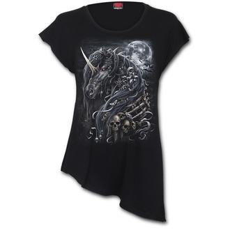 tričko dámske SPIRAL - DARK UNICORN, SPIRAL