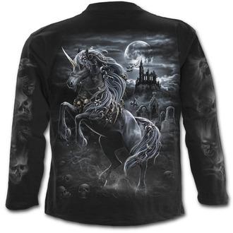 tričko pánske s dlhým rukávom SPIRAL - DARK UNICORN