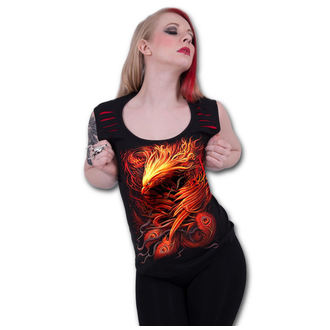 tielko dámske SPIRAL - PHOENIX ARISEN - Red - T145G082 PHOENIX ARISEN - Red, SPIRAL