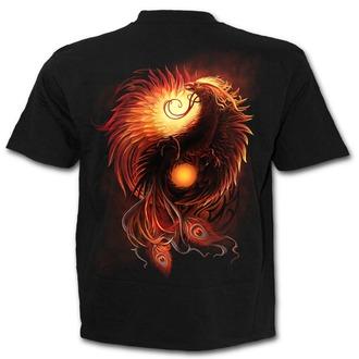 tričko pánske SPIRAL - PHOENIX ARISEN - Black