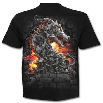 tričko pánske SPIRAL - KEEPER OF THE FORTRESS - Black - T146M101