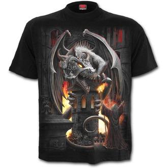 tričko pánske SPIRAL - KEEPER OF THE FORTRESS - Black, SPIRAL