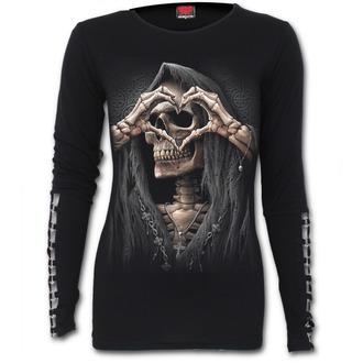 tričko dámske s dlhým rukávom SPIRAL - DARK LOVE, SPIRAL