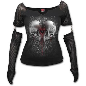 tričko dámske s dlhým rukávom SPIRAL - LOVE AND DEATH, SPIRAL