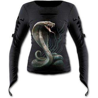 tričko dámske s dlhým rukávom SPIRAL - SERPENT TATTOO - T149F426