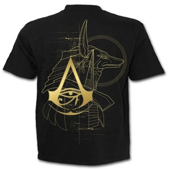 tričko pánske SPIRAL - ORIGINS - ANUBIS - Assassins Creed - Black, SPIRAL