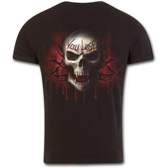 tričko pánske SPIRAL - GAME OVER - Black, SPIRAL