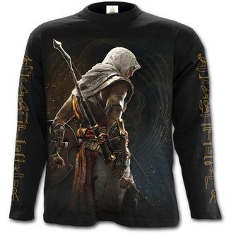 tričko pánske s dlhým rukávom SPIRAL - ORIGINS - BAYEK - Assassins Creed - Black, SPIRAL