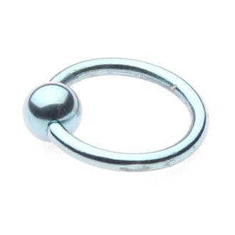 piercingový šperk - Metallic Blue