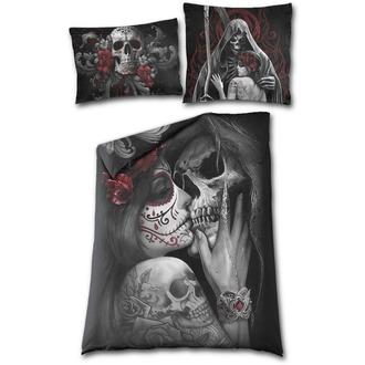 obliečky SPIRAL - SKULL ROSES, SPIRAL