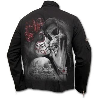 bunda pánska SPIRAL - DEAD KISS - Orient Goth - Black, SPIRAL