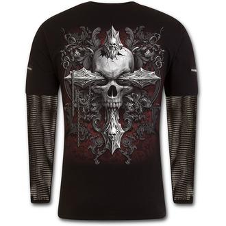 tričko pánske SPIRAL - CROSS OF DARKNESS - D077M321