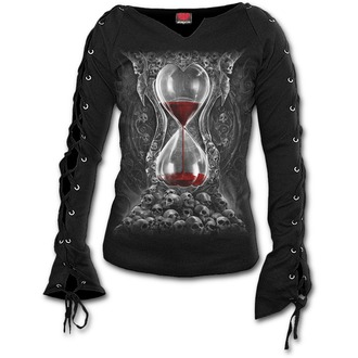 tričko dámske s dlhým rukávom SPIRAL - SANDS OF DEATH - Black