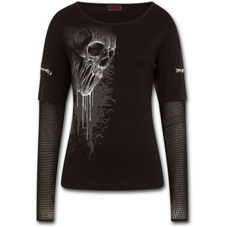 tričko dámske s dlhým rukávom SPIRAL - BAT CURSE