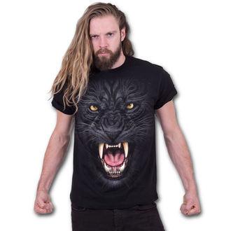 tričko pánske SPIRAL - TRIBAL PANTHER - Black, SPIRAL