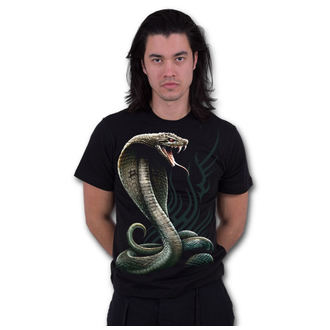 tričko pánske SPIRAL - SERPENT TATTOO - Black, SPIRAL