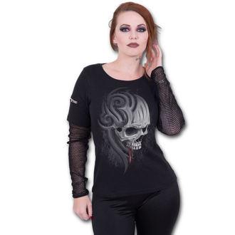 tričko dámske s dlhým rukávom SPIRAL - DEATH ROAR, SPIRAL
