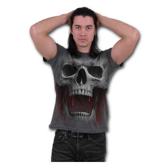tričko pánske SPIRAL - DEATH ROAR - Charcoal, SPIRAL
