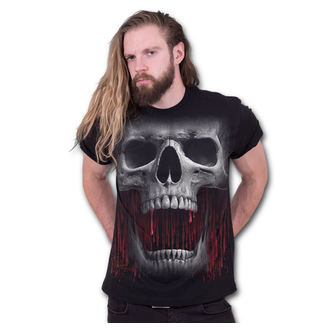 tričko pánske SPIRAL - DEATH ROAR - Black, SPIRAL