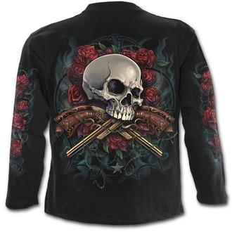 tričko pánske s dlhým rukávom SPIRAL - LORD HAVE MERCY - Black, SPIRAL