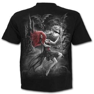 tričko pánske SPIRAL - QUEEN OF THE NIGHT - Black, SPIRAL