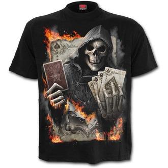 tričko pánske SPIRAL - ACE REAPER - Black, SPIRAL