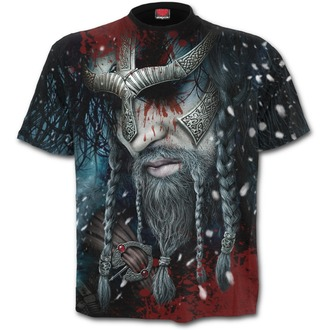 tričko pánske SPIRAL - VIKING WRAP - Black, SPIRAL