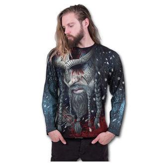 tričko pánske s dlhým rukávom SPIRAL - VIKING WRAP - Black, SPIRAL