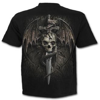 tričko pánske SPIRAL - DRACO SKULL - Black, SPIRAL