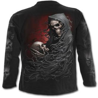 tričko pánske s dlhým rukávom SPIRAL - DEATH ROBE - Black, SPIRAL